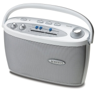 Roberts Classic997 3 Band LW/MW/FM Portable Radio - White
