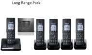 Panasonic KX-TG8565 Long Range Home Phone With Repeater (5 Handsets)