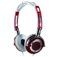 QOOpro LowRider Super Bass Stereo Headphone Color: Red