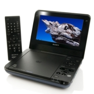 Sony 7 LCD Portable DVD Player with AC and Car Chargers