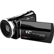 Agfaphoto APDV-1002 Digital Video Camera 5 MegaPixel HD 1080p with HDMI Connection, 5x Optical Zoom, 5x Digital, 3 inch LCD, Li-ion Battery