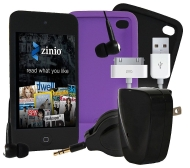 Apple 8GB iPod touch with 8-Piece Accessory Kit& $50 ZinioCard