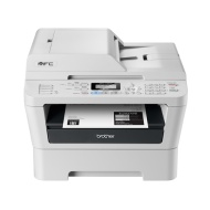 Brother All-In-One Monochrome Laser Printer with Fax (RMFC7360N) - Refurbished