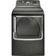 GE Adora 7.8 cu. ft. Electric Dryer with Steam in Metallic Carbon GHDS835EDMC