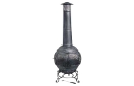 Large Metal Chiminea