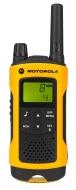 Motorola Talker T60 2 Way Walkie Talkie Radio - Black (Pack of 2)