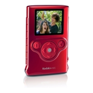 Kodak Mini Pocket Waterproof Video Camera/ZM1 3X digital,1.8 inch LCD - Red
