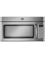 Maytag MMV5208WS 2.0 cu. ft. 1100 Watt Combination Range Hood Microwave - Stainless Steel