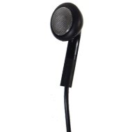 One Good Earbud - iPod-style Stereo-to-mono Earbud for the Left Ear