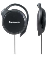 Panasonic RP-HS46E-K Lightweight In-Ear Clip Headphone.