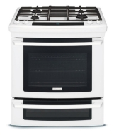 "Electrolux EW30DS65GS - Range - 30"" - freestanding - with self-cleaning - stainless steel"
