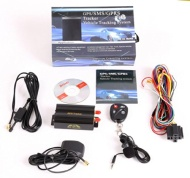 GPS SMS tracker TK103B with remote control Free PC version software google maps link real time tracking