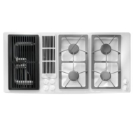 Jenn-Air 45-Inch Gas Downdraft Cooktop (Color: Black)