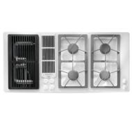 Jenn-Air 45-Inch Gas Downdraft Cooktop (Color: Black)