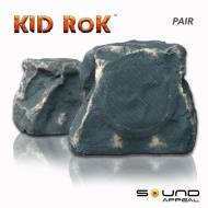 KiD RoK Outdoor Rock Speaker Grey Slate by Sound Appeal