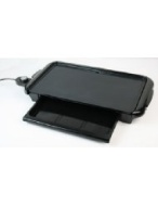 Nostalgia Electrics NGD-200 Non-stick Electric Griddle with Warming Drawer