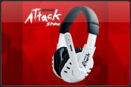 Ozone Gaming Gear Attack Snow Limited Edition Gamers Stereo Headset