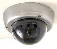Q-See QSD360 - CCTV camera - dome - vandal-proof - color ( Day&Night ) - auto iris - 480 TVL - DC 12 V