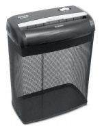 Aurora AS890C 8 Sheet Crosscut Paper/Credit Card Shredder with Basket