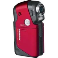 Cobra 5MP Digital Video Camera-Red