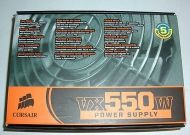 Corsair VX550W - power supply - 550 Watt