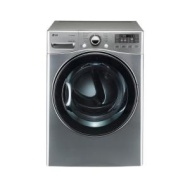 LG DLGX3471V SteamDryer 7.3 Cu. Ft. 12-Cycle Ultra-Large Capacity Steam Gas Dryer - Graphite Steel