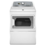 MEDX700XW Maytag 7.4 cu. ft. Bravos X Front Load Electric Dryer - White