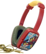 Marvel Comics Iron Man Overhead Stereo Headphones