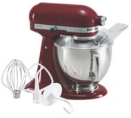 KitchenAid - Artisan Stand Mixer - Candy Apple Red KSM155GBCA