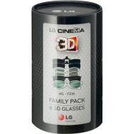 LG AG-F216 3D Glasses - Family Pack