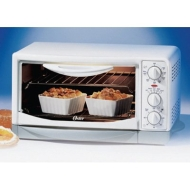 Oster 6230 6-Slice Toaster Oven-Broiler, White