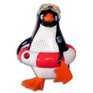 Penguin Shower Radio (red ring)