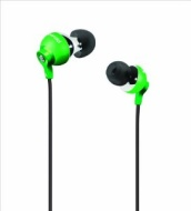 Polaroid PEBBLE PEP25GRN Stereo In-Ear Headphones (Green)