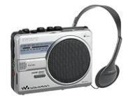 Sony Walkman WM-SR10 - Radio / cassette recorder - silver