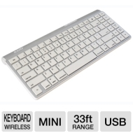 AZIO Wireless Bluetooth Keyboard for ipad/Mac - KB333BM