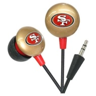 NFL Officially Licensed San Francisco 49ers Mini Earbuds