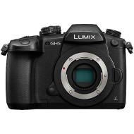 "Panasonic Lumix DC-GH5 Compact System Camera, 4K UHD, 20.3MP, Wi-Fi, OLED Live Viewfinder, 3.2"" LCD Vari-Angle Touch Screen, Body Only"