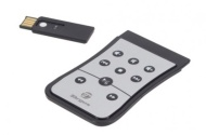 Targus Stow-N-Go Media Remote Control Card - Notebook remote control - radio