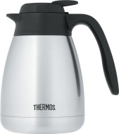 Thermos Vacuum Insulated Stainless Steel Carafe, 34-Ounce