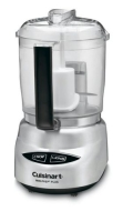 Cuisinart Mini-Prep Plus 4-Cup Food Processor, Brushed Stainless Steel