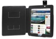 LUPO Etui Luxe en Cuir pour Apple iPad 16 gigaoctet 32 gigaoctet 64 gigaoctet, y compris les vérsions Wifi & 3g (16GB 32GB 64GB) - NOIR