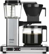 Technivorm Moccamaster Coffee Maker with Glass Carafe, Polished Silver