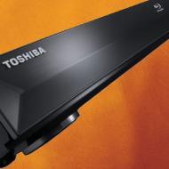 Toshiba Blu-ray Disc Player BDX2000