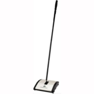 BISSELL - Natural Sweep Upright Sweeper - Stainless-Steel 92N0