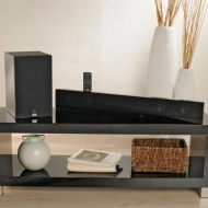 JVC Home Theater Soundbar with Wireless Subwoofer