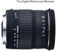 Sigma 18-50mm f/2.8 EX DC Lens