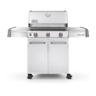Weber 6550001 Genesis S-310 Liquid Propane Gas Grill - Stainless Steel