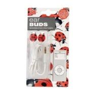 Ear Buds - Ladybug