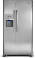 Frigidaire Freestanding Side-by-Side Refrigerator FPHS2687KF
