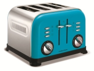Morphy Richards Accents 44797 4 Slice Toaster Yellow